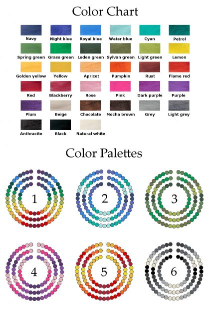 Colors and palettes