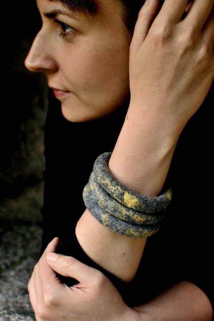 Bangles in tribal or ethnic style