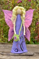 Sweet fairy figurine