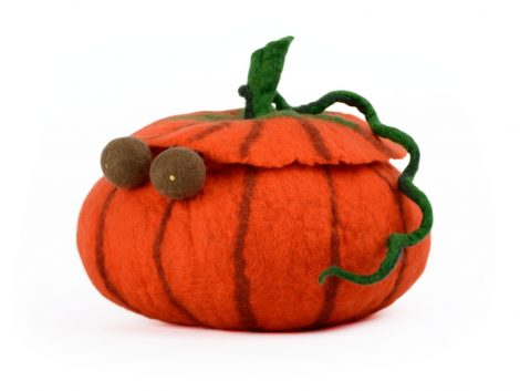 Pumpkin jewelry storage