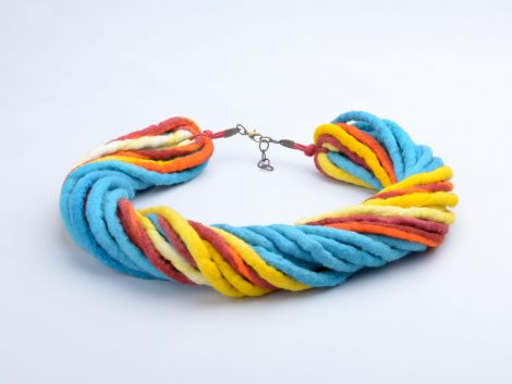 Cheer felt necklace
