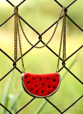 Watermelon pendant - sweet sixteen jewelry