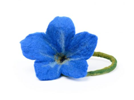 Forget-me-not photo prop