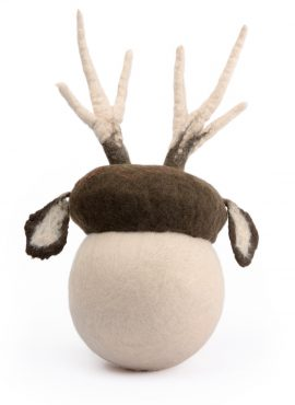 Newborn baby photo prop deer hat