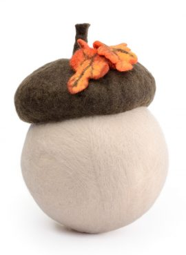 Newborn acorn hat photo prop