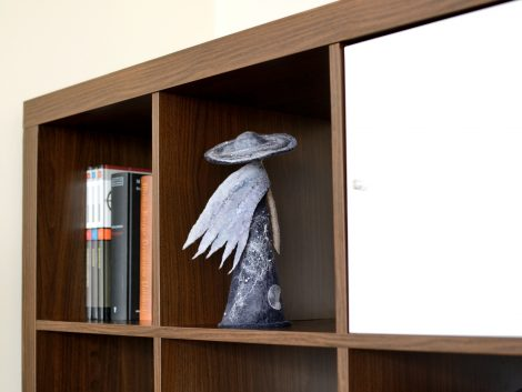 Science fiction figurine for home and office