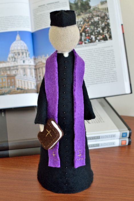 Clergy statue - Holy Orders gift for a priest