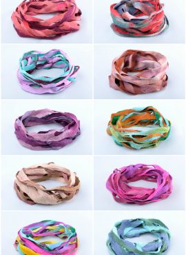 Felted infinity scarves